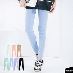 CatWorld - Plain Skinny Pants