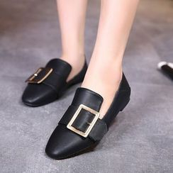 Monde - Buckled Loafers