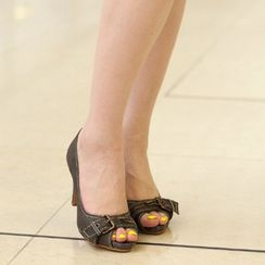 59th Street - Peep-Toe Pumps