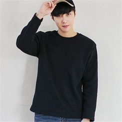 MITOSHOP - Crew-Neck Colored T-Shirt