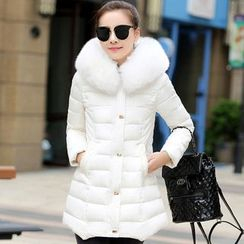 Romantica - Faux-Fur Padded Coat