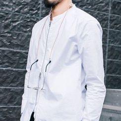 YIDESIMPLE - Zipper Shirt