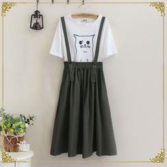 gabrielle - A-Line Jumper Skirt