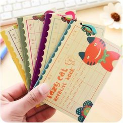 Desu - Cat Mini Notebook