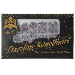 Suki Dazzling Sweetheart Nail Polish Sticker (955)
