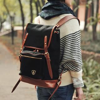 SUPER LOVER - Piped Backpack