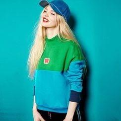 ELF SACK - Color-Block Pullover