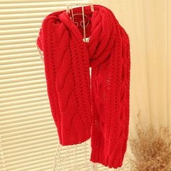 MYHEART - Cable-Knit Scarf
