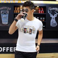 VILUNI - Print Short-Sleeve T-shirt