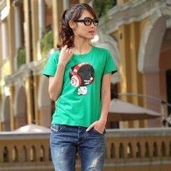 Porspor - Boy Print T-Shirt