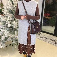 Frontline - Plain Knit Vest