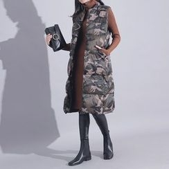 Sonne - Camo Padded Long Vest