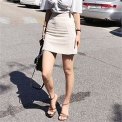 LIPHOP - A-Line Miniskirt
