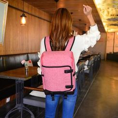 Seok - Buckled Laptop Backpack