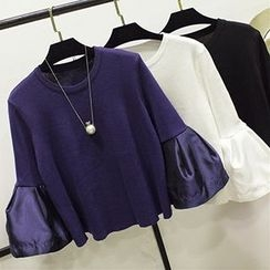 Honey House - Bell Sleeve Knit Pullover