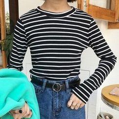 Ashlee - Striped Long Sleeve T-Shirt
