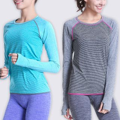 Lady Lily - Sports Long-Sleeve Top