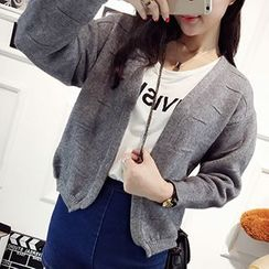 FR - Open Front Cardigan