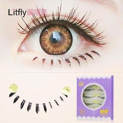 Litfly - Eyelash#015 (Lower Lash) (5 pairs)