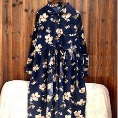 tete - Floral Shirtdress