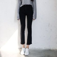 Oyal - Boot-Cut Cropped Jeans