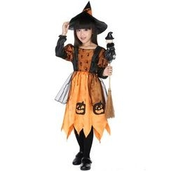 Whitsy - Kids Witch Party Costume