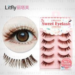 Litfly - Eyelash #101 (5 pairs)