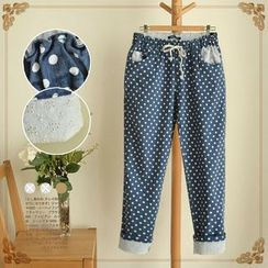 Waypoints - Dotted Drawstring Pants