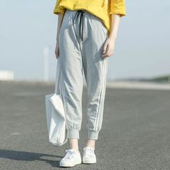 Mushi - Striped Sports Pants