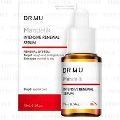 DR.WU - Mandelic Renewal System Intensive Renewal Serum With Mandelic Acid 18%