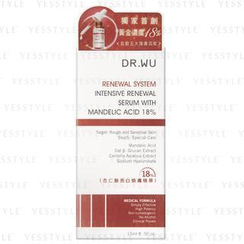 Dr. Wu - Renewal System Intensive Renewal Serum With Mandelic Acid 18%