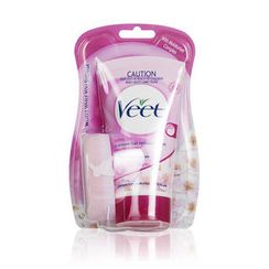 Veet - In Shower Hair Removal Cream - Lotus Milk & Jasmine (for normal skin) (Pink)