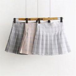 Moricode - 飾褶A字裙