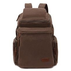 AUGUR - Canvas Zip Backpack