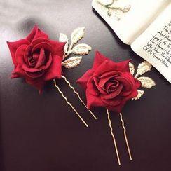 Neostar - 玫瑰发簪