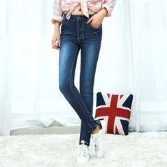 Denimot - Washed Skinny Jeans