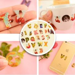 Tivi Boutique - Alphabet Sticker Flakes