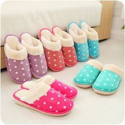 VANDO - Polka-Dot Slippers