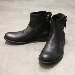 Manne - Zip Short Boots