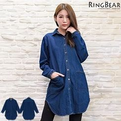 RingBear - Denim Long Shirt
