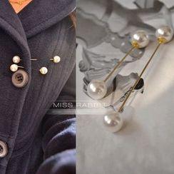 Cometto - 仿珍珠胸针