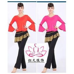 AUM - 拉丁舞套裝: 上衣 + 長褲