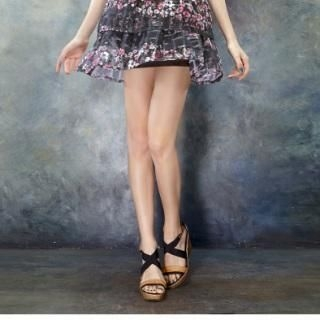 ELF SACK - Color-Block Wedge Sandals