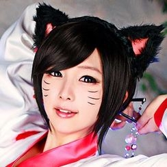 HSIU - League of Legends Ahri Cosplay Wig