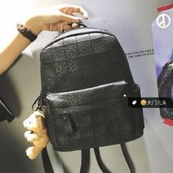 DAMENTO - Faux Leather Backpack