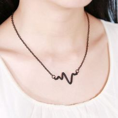 Calypso - Heartbeat EKG Necklace