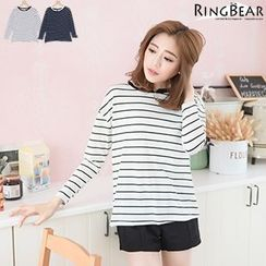 RingBear - Long Sleeve Stiped Tee