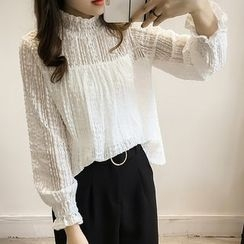 Little V - Set: Lace Blouse + Camisole