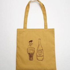 BABOSARANG - 'SSBA' Series Shopper Bag - Beer
