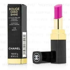 Chanel - Rouge Coco Shine Hydrating Sheer Lipshine (#116 Mighty)